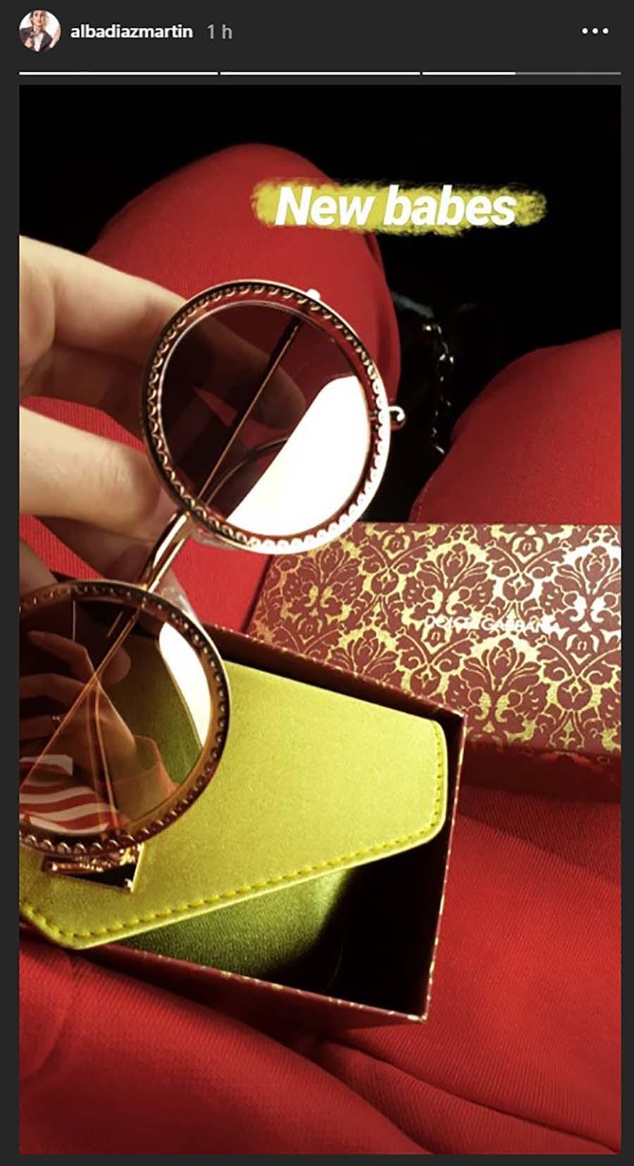 Alba Díaz gafas de sol