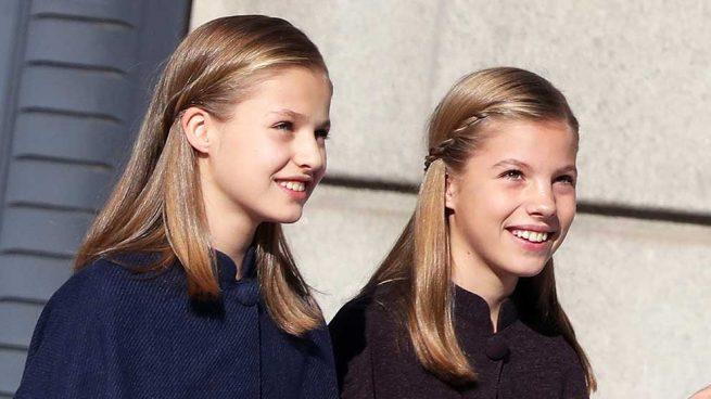 Leonor y Sofía infantas
