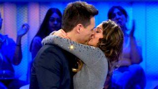 Almudena Cid y Christian Gálvez acabaron besándose apasionadamente / Mediaset