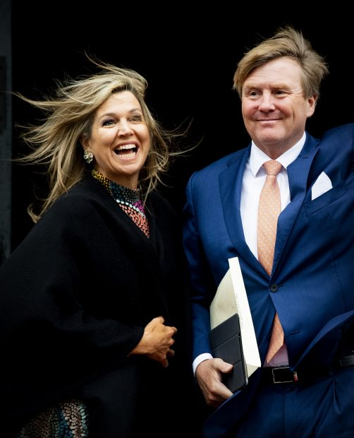 Máxima de Holanda, reaparece más sonriente que nunca tras estrenar su nuevo palacio