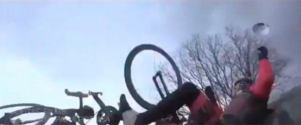 Dani Rovira comparte el vídeo del atropello que sufrió mientras iba en bicicleta