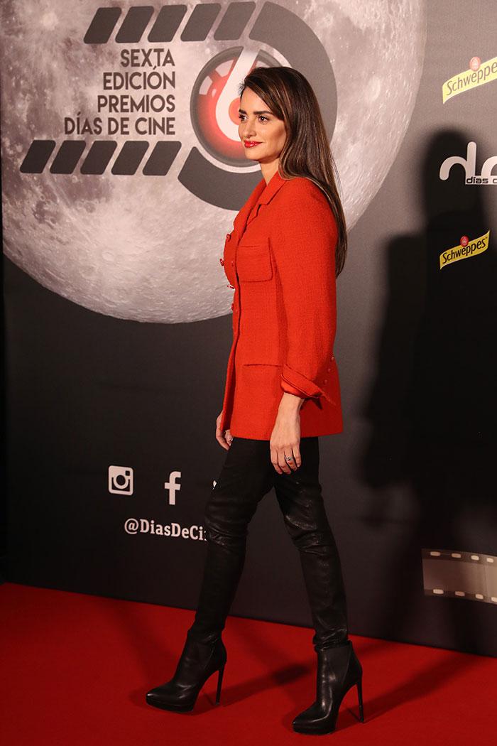Penélope Cruz en los IV Premios Días de Cine