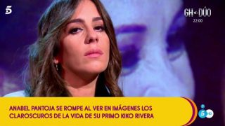 Anabel Pantoja durante su última intervención en 'Sálvame'/ Gtres