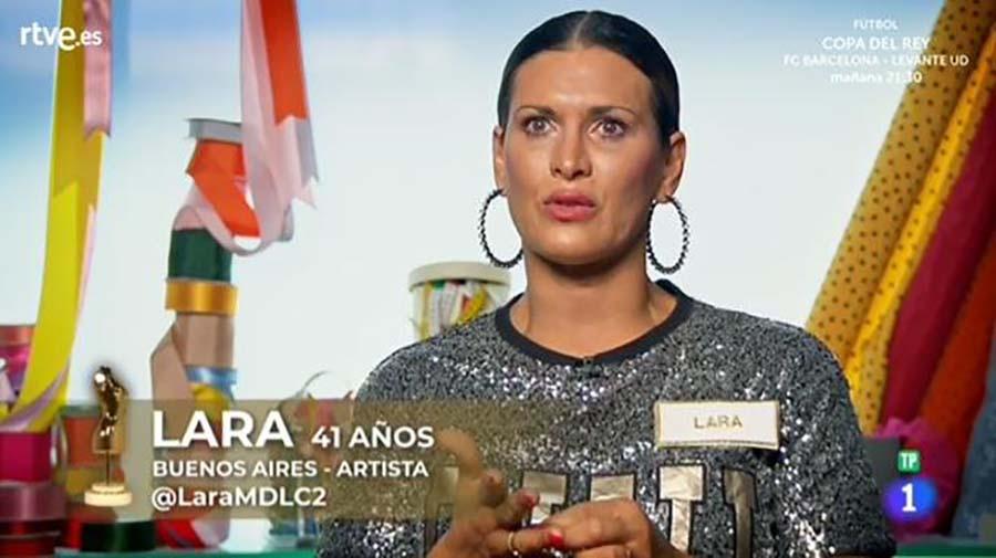 Lara, concursante de 'Maestros de la costura