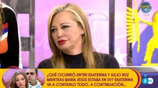 Belén Esteban, en 'Sálvame' / Telecinco.