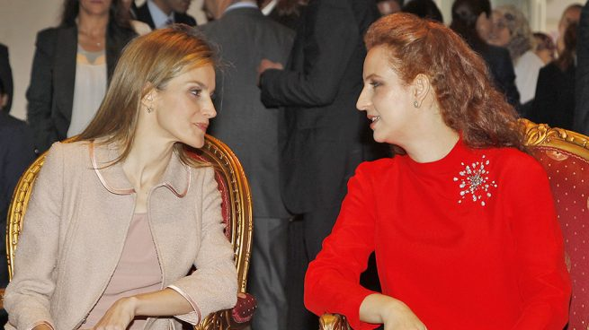 Dona Letizia y Lalla Salma en una imagen de archivo / Gtres