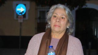 Carmen Gahona, antes de la misa por Chiquetete / Gtres.