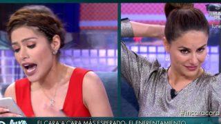 Mónica y Miriam, en 'Sábado Deluxe' / Telecinco.