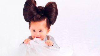 Baby Chanco, la niña japonesa que ha enamorado a la Red con su melena. / @babychanco