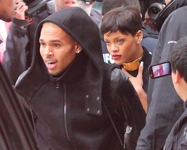 Rihanna , Chris Brown