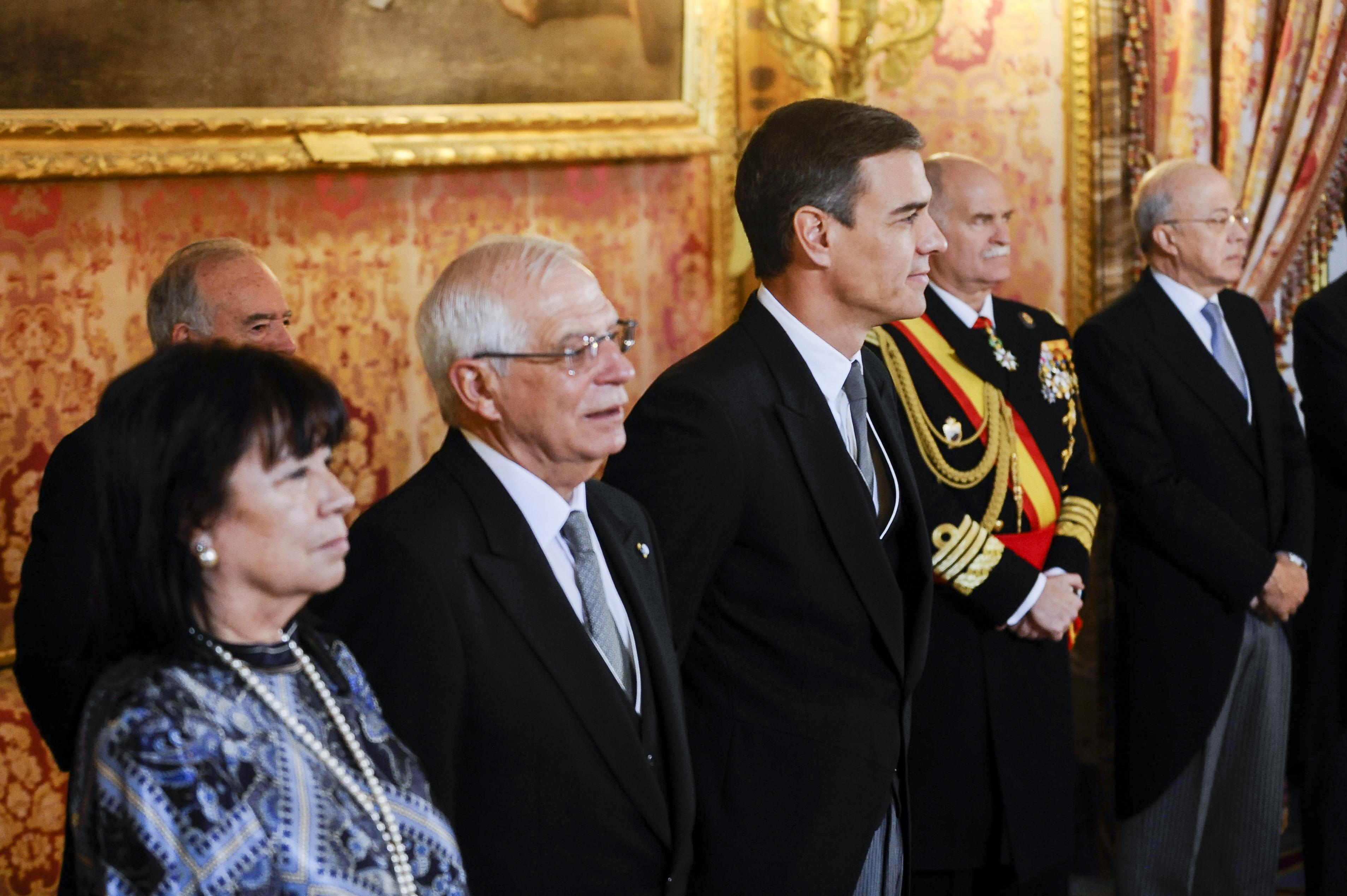 Recepción de los Reyes al Cuerpo Diplomático acreditado en España