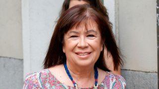 Cristina Narbona ha acudido a un acto en el Palacio Real con un vestido de H&M / Gtresonline
