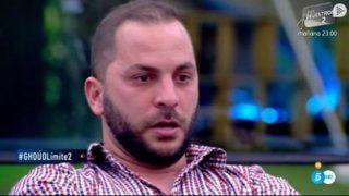 Antonio Tejado al borde del llanto en GH DÚO./Mediaset