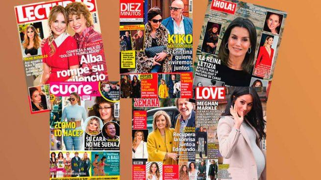 La nueva novia de Kiko Matamoros y Letizia, protagonistas de las revistas