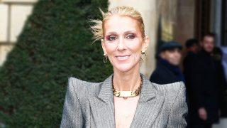 La cantante Céline Dion en la Semana de la Moda de Alta Costura de París. / Gtres