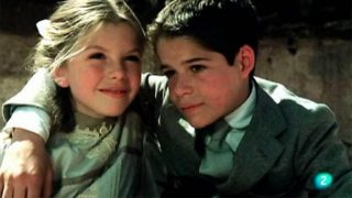 Jorge Sanz y la madre de su hijo /TVE