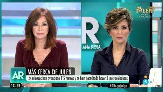 Ana Rosa Quintana y Sonsoles Ónega, en el especial informativo de Julen / Mediaset.