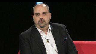Julio Ruz en el plató de Gran Hermano /Mediaset