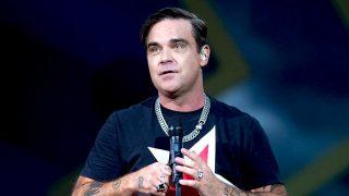 Robbie Williams, durante un concierto / Gtres