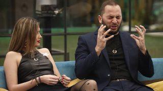 Candela y Antonio Tejado en una discusión en GH DÚO./Mediaset