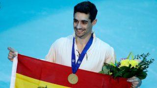 Javier Fernández, en su última competición / Gtres.
