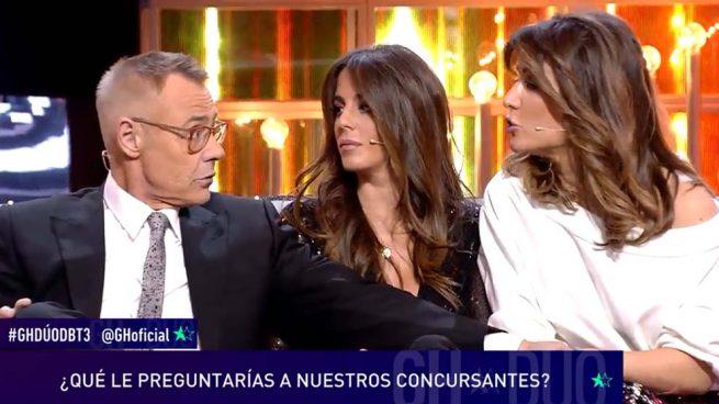 Jordi González, Anabel Pantoja y Nagore Robles
