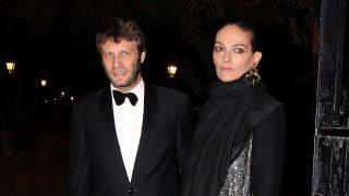 Laura Ponte junto a su pareja, Pedro Letai, durante la fiesta de Marie Claire /Gtres