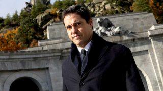 Luis Alfonso de Borbón, en el Valle de los Caídos / Gtres