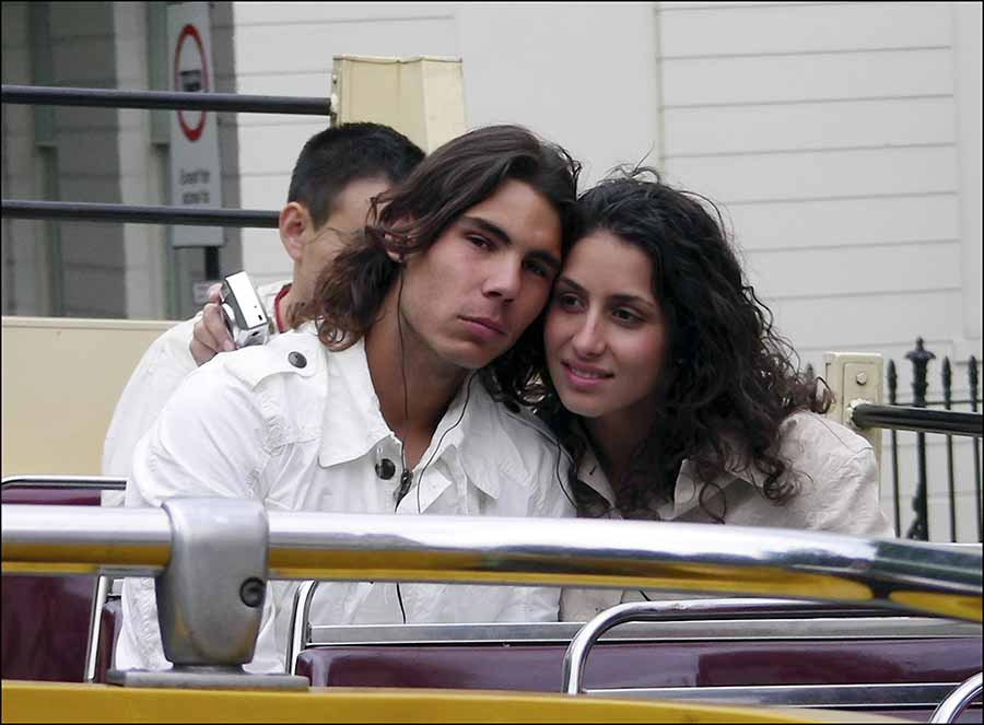 Rafa Nadal y Xisca