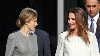 Rania y Letizia en una imagen de archivo / Gtres