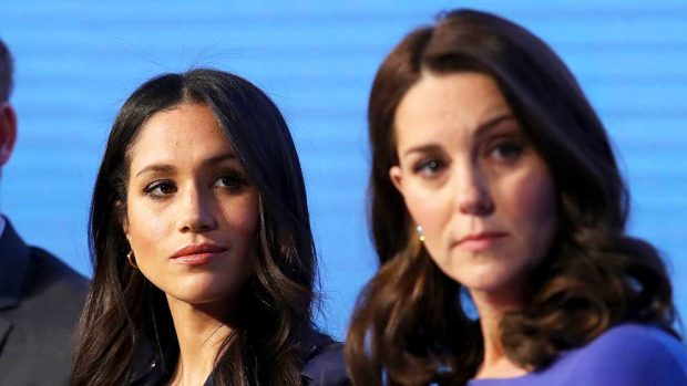 meghan markle kate middleton peinados