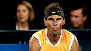 Rafa Nadal, durante un partido del Open de Australia 2019 / Gtres
