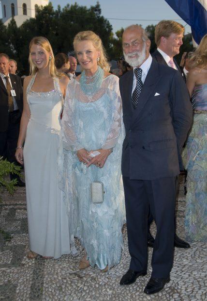 Gabriella con sus padres en una imagen de archivo / Gtres