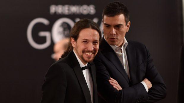 Pablo Iglesias Pedro Sánchez