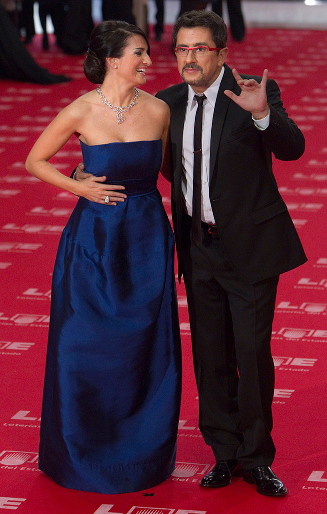 Silvia Abril y Andreu Buenafuente en los Goya