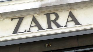 Antiguo logo de Zara en una de sus tiendas / Gtres