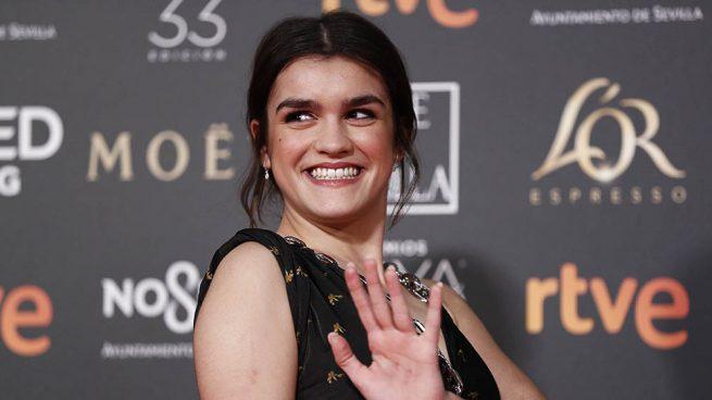 Amaia Romero durante los Premios Goya 2019