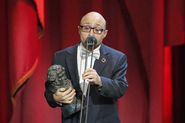 Jesús Vidal durante los Premios Goya 2019