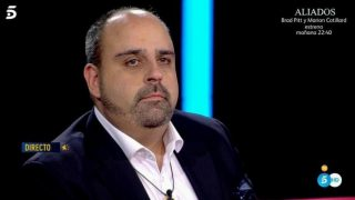 Julio Ruz, la imagen de la tristeza en 'GH Dúo' / Telecinco.