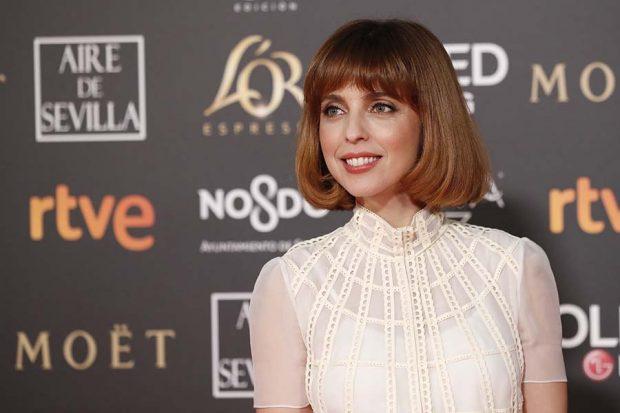 Leticia Dolera durante los Premios Goya 2019