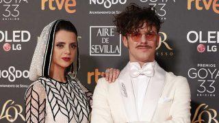 Macarena Gómez y Aldo Comas a su llegada a los Premios Goya / Gtres