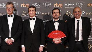 Los políticos, en los Premios Goya 2019 / Gtres.