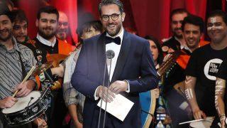 Màxim Huerta durante los Premios Goya 2019 / Gtres