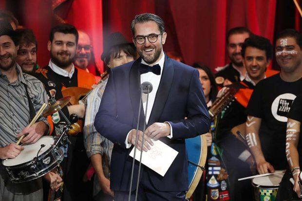 Màxim Huerta durante los Premios Goya 2019