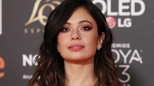 Anna Castillo durante la gala de los Premios Goya 2019
