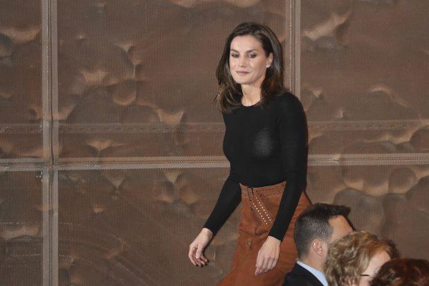 La reina Letizia nos enseña su ropa interior