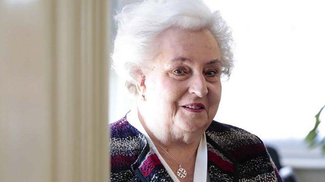 La infanta Doña Pilar de Borbón