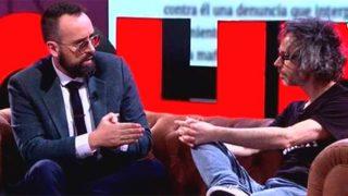 Risto Mejide y James Rhodes, durante la entrevista / Cuatro