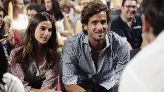Feliciano López y Sandra Gago en una imagen de archivo /Gtres