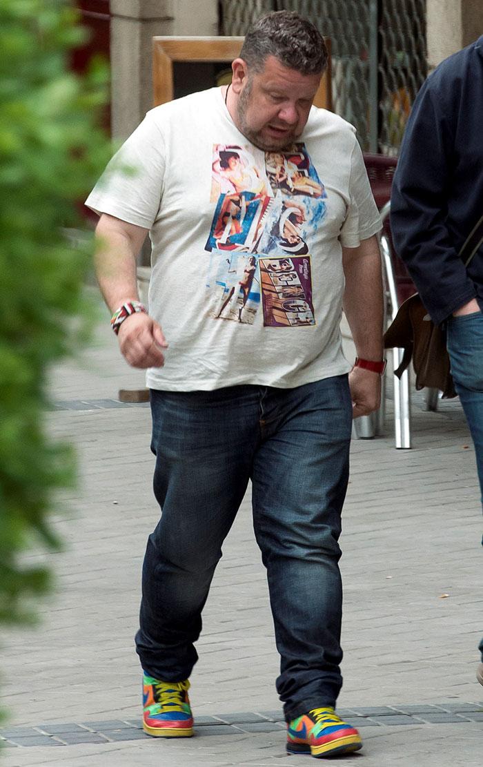 Alberto Chicote tras perder más de 30 kilos